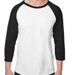 Jerzees 5.2 oz. Premium Ring-Spun Raglan Baseball Shirt