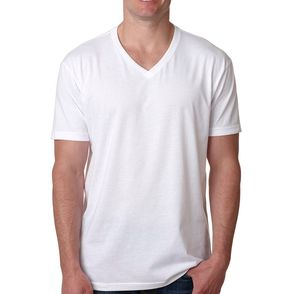Next Level Cotton Blend V-Neck T-Shirt