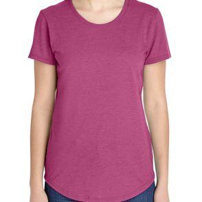Anvil Tri-Blend Women's Scoop Neck T-Shirt