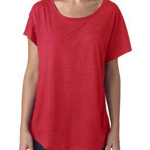 Next Level Women's Tri-Blend Dolman Sleeve Top