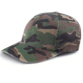Flexfit Cotton Camo Baseball Hat