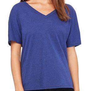 Bella + Canvas Women's Slouchy V-Neck T-Shirt