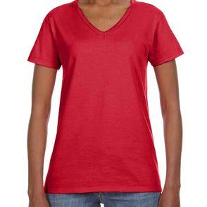 Anvil Women's Lightweight V-Neck T-Shirt