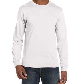 Anvil Fitted Lightweight Long Sleeve Shirt