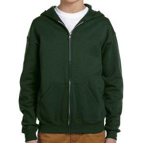 Jerzees Kids' NuBlend® Fleece Zip Up Hoodie