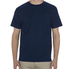 Alstyle 100% Cotton Pocket T-Shirt