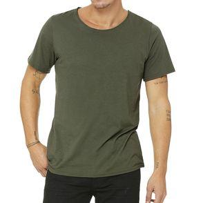Bella + Canvas Jersey Raw Neck T-Shirt