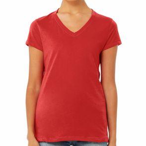 Bella + Canvas Women's Jersey V-Neck T-Shirt