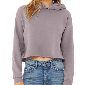 Bella + Canvas Women's Cropped Fleece Hoodie