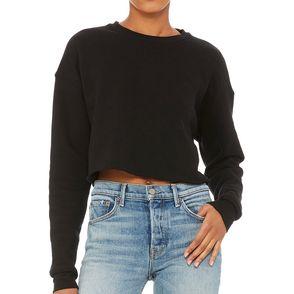 Bella + Canvas Women's Cropped Fleece Sweatshirt