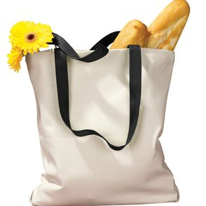 BAGedge 12 oz. Tote Bag with Contrasting Handles