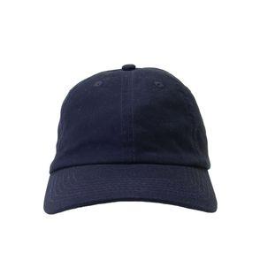 Big Accessories 6-Panel Brushed Twill Kids Hats