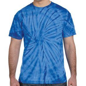 Tie-Dye 100% Cotton Spider Adult T-Shirt