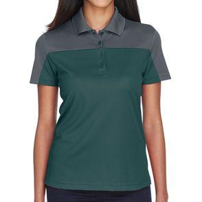 Core 365 Women's Balance Colorblock Performance Pique Polo Shirt