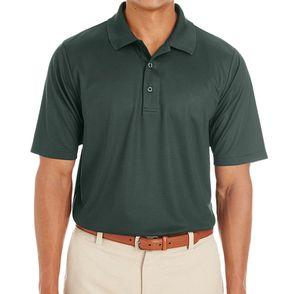 Core 365 Men's Express Microstripe Performance Pique Polo Shirt