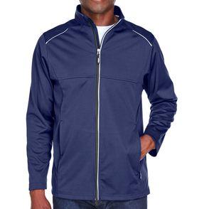 Core 365 Men's Techno Lite Three-Layer Knit Tech Zip Up Jacket