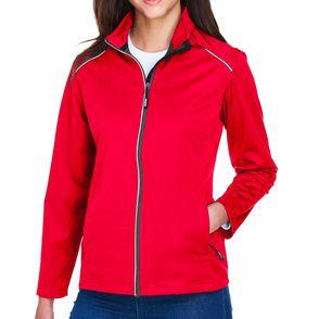 Core 365 Women's Techno Lite Three-Layer Knit Tech Zip Up Jacket