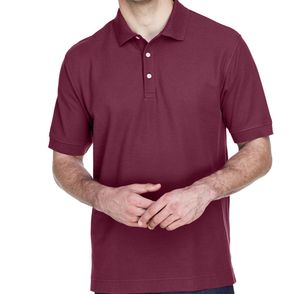 Devon & Jones Men's Short Sleeve Pique Polo