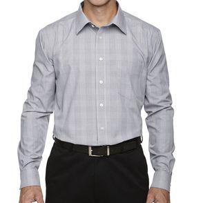 Devon & Jones Crown Collection™ GlenPlaid Button Up Shirt