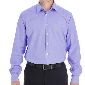 Devon & Jones Crown Collection™ RoyalDobby Button Up Shirt
