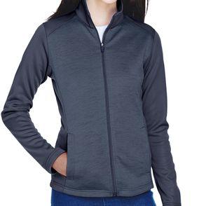 Devon & Jones Women's Newbury Colorblock Fleece Zip Up Jacket