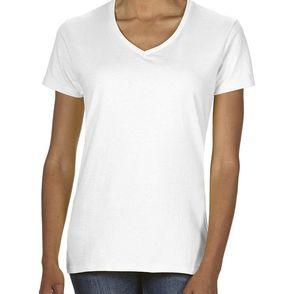 Gildan Heavy Cotton Women's V-Neck T-Shirt
