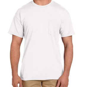 Gildan DryBlend® Pocket T-Shirt