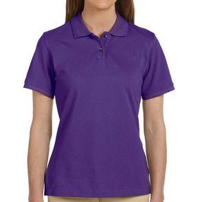 Harriton Women's Ringspun Cotton Polo