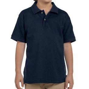 Harriton Cotton Piqué Kids' Polo Shirt