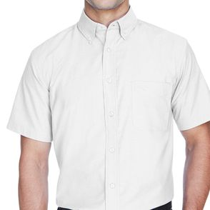 Harriton Short Sleeve Oxford Shirt