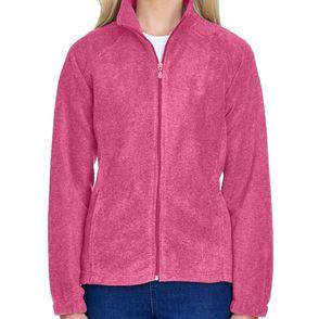 Harriton Women's Fleece Zip Up Jacket