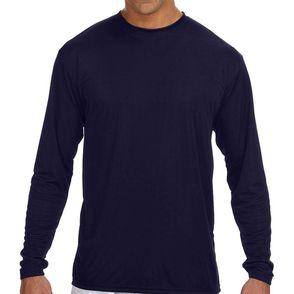 A4 Men's Long-Sleeve Moisture Wicking Shirt