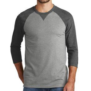 New EraSueded Cotton Blend 3/4-Sleeve Baseball Raglan Tee