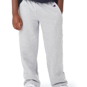 Champion Double Dry Eco® Kids' Open-Bottom Sweatpants