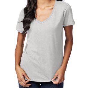Hanes Nano-T® Women's V-Neck T-Shirt