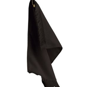 Fringed Fingertip Towel with Grommet and Hook