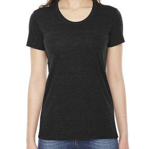 American Apparel Women's Triblend Track T-Shirt