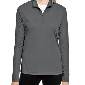 Team 365 Women's Zone Performance Quarter-Zip Pullover