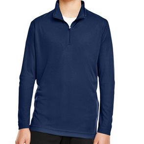 Team 365 Kids Zone Performance Quarter-Zip Pullover