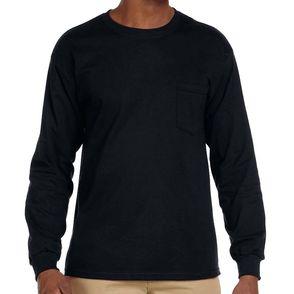 Gildan Ultra Cotton Long Sleeve Pocket Shirt