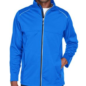 Core 365 Men's Techno Lite Three-Layer Knit Tech Zip Up Jacket