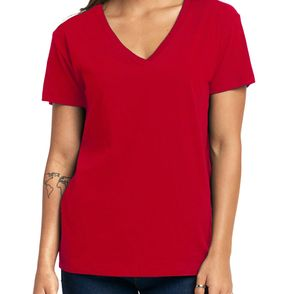Next Level Women's Relaxed V-Neck T-Shirt